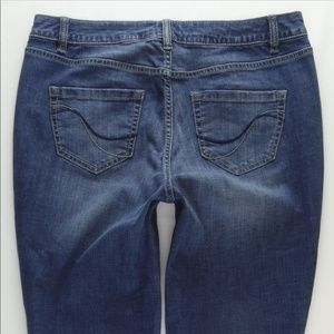Lane Bryant Boot Stretch Jeans Women 14 Short #745